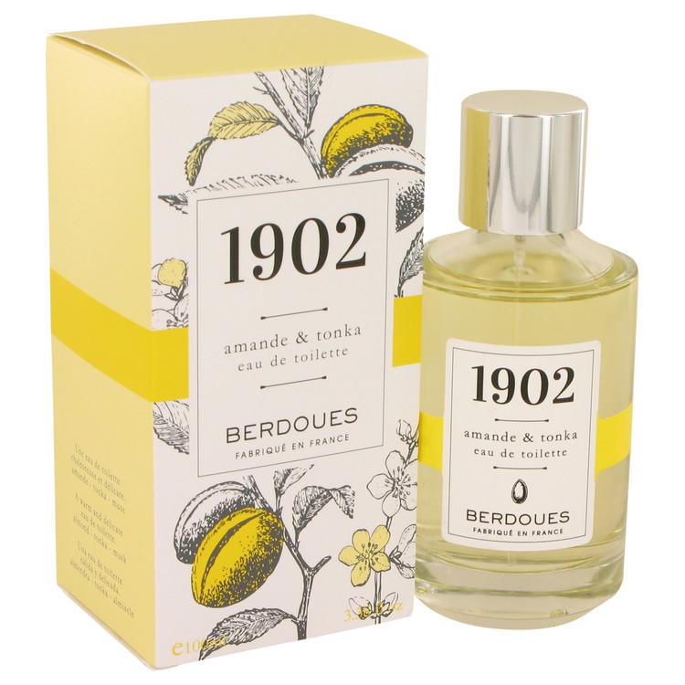 1902 Amande & Tonka by Berdoues for Women Eau De Toilette Spray 3.38 oz