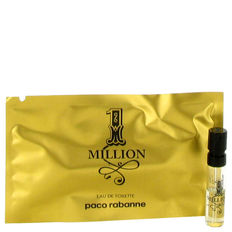 1 Million by Paco Rabanne for Men Vial (sample) .03 oz