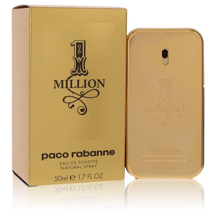 1 Million by Paco Rabanne for Men Eau De Toilette Spray 1.7 oz