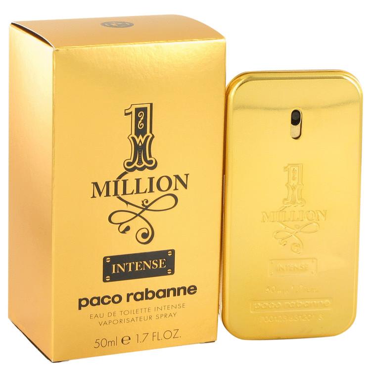 1 Million Intense by Paco Rabanne for Men Eau De Toilette Spray 1.7 oz