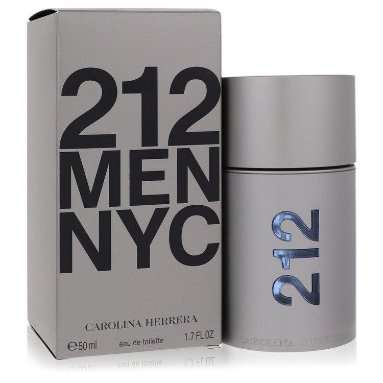 212 by Carolina Herrera for Men Eau De Toilette Spray (New Packaging) 1.7 oz