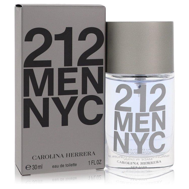 212 by Carolina Herrera for Men Eau De Toilette Spray (New Packaging) 1 oz