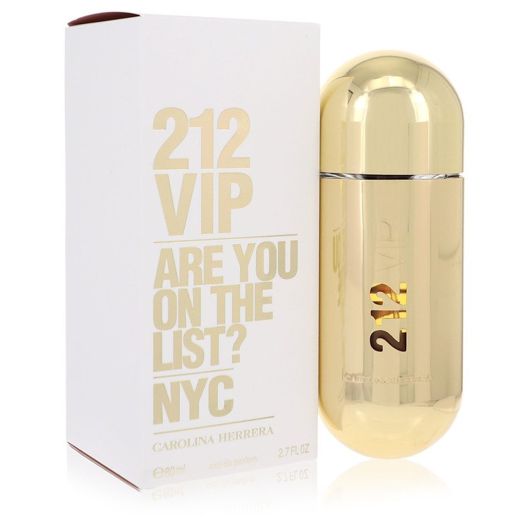 212 Vip by Carolina Herrera for Women Eau De Parfum Spray 2.7 oz