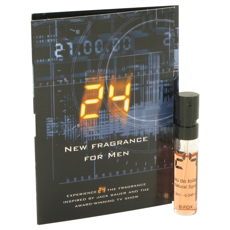 24 The Fragrance by ScentStory for Men Vial (sample) .04 oz