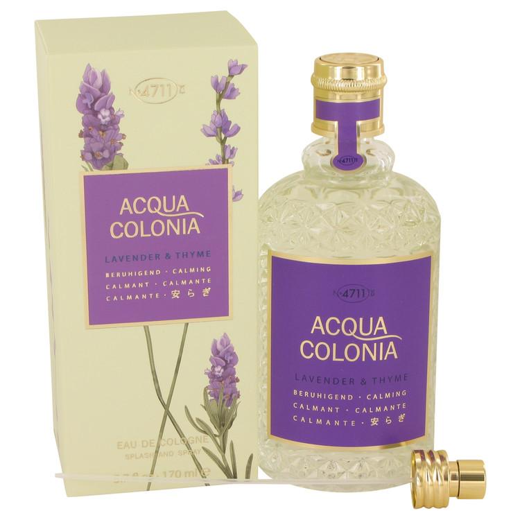 4711 ACQUA COLONIA Lavender & Thyme by Maurer & Wirtz for Women Eau De Cologne Spray (Unisex) 5.7 oz