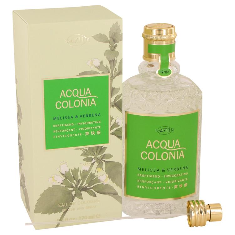 4711 ACQUA COLONIA Melissa & Verbena by Maurer & Wirtz for Women Eau De Cologne Spray (Unisex) 5.7 oz
