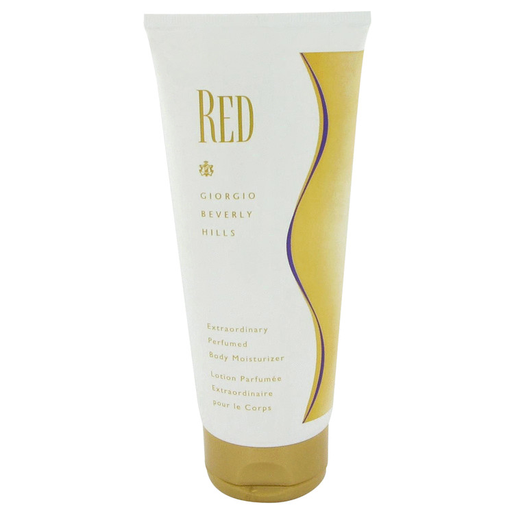 RED by Giorgio Beverly Hills for Women Body Moisturizer 6.7 oz