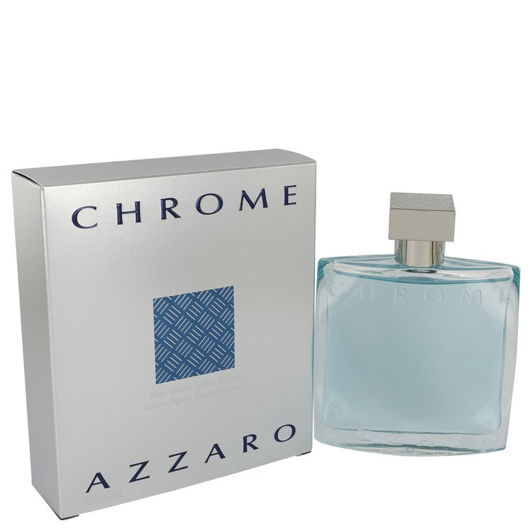 Chrome by Azzaro for Men After Shave 3.4 oz
