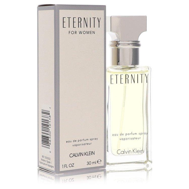 ETERNITY by Calvin Klein for Women Eau De Parfum Spray 1 oz