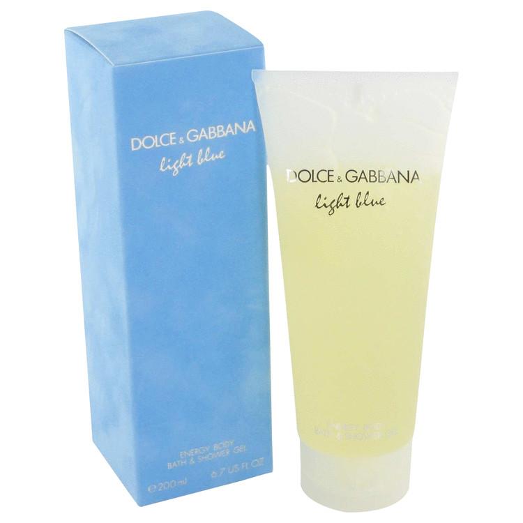 Light Blue by Dolce & Gabbana for Women Shower Gel 6.7 oz