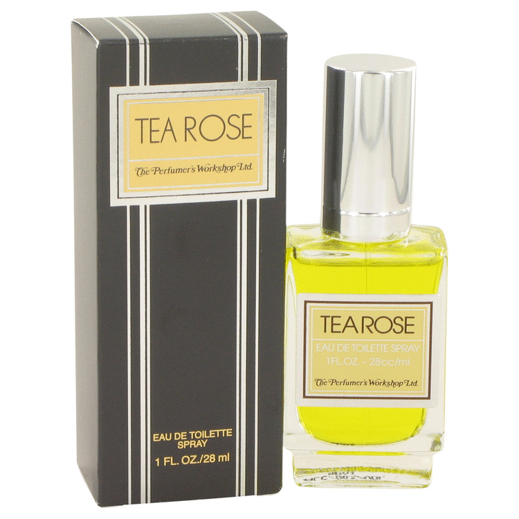 TEA ROSE by Perfumers Workshop for Women Eau De Toilette Spray 1 oz