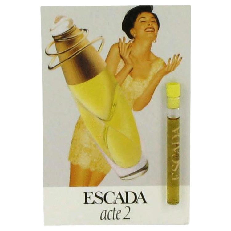 ACTE 2 by Escada for Women Vial (sample) .04 oz