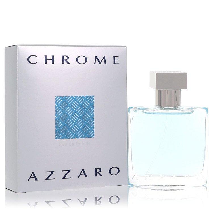 Chrome by Azzaro for Men Eau De Toilette Spray 1 oz