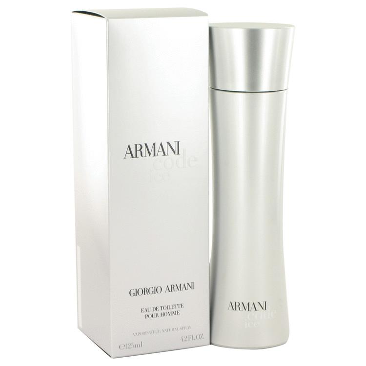Armani Code Ice by Giorgio Armani for Men Eau De Toilette Spray 4.2 oz