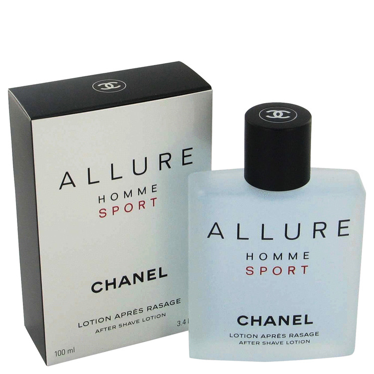 allure homme sport by chanel 3 4 oz after shave. Black Bedroom Furniture Sets. Home Design Ideas