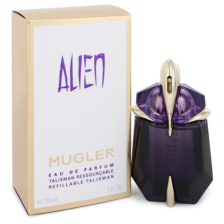 Alien by Thierry Mugler for Women Eau De Parfum Spray Refillable 1 oz