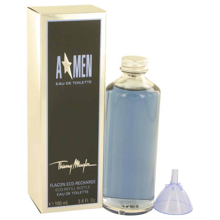 ANGEL by Thierry Mugler for Men Eau De Toilette Eco Refill Bottle 3.4 oz