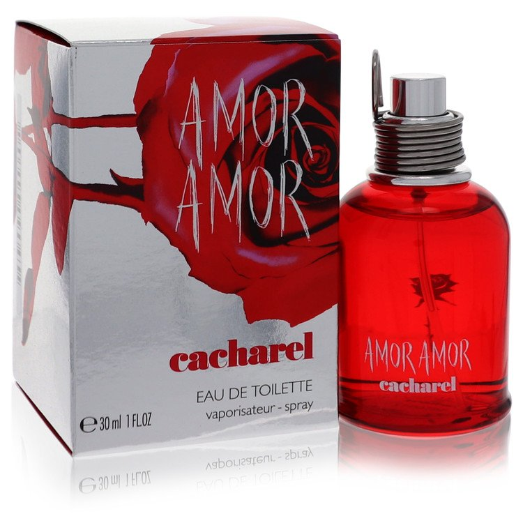 Amor Amor by Cacharel for Women Eau De Toilette Spray 1 oz