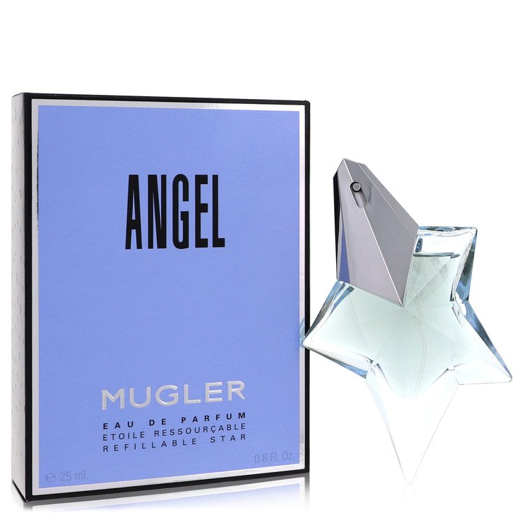 ANGEL by Thierry Mugler for Women Eau De Parfum Spray Refillable .8 oz