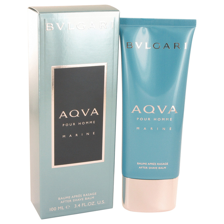 Bvlgari Aqua Marine by Bvlgari for Men After Shave Balm 3.4 oz
