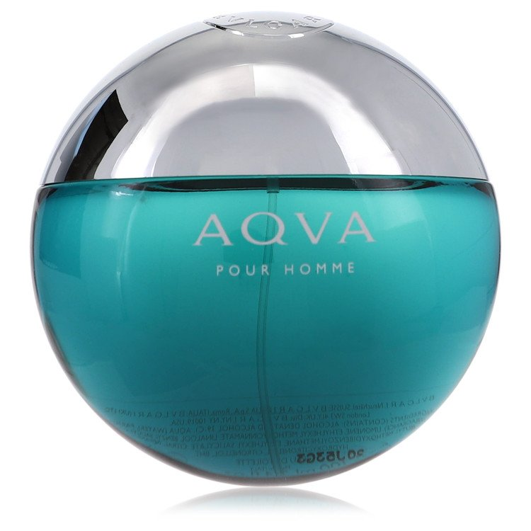 AQUA POUR HOMME by Bvlgari for Men Eau De Toilette Spray (Tester) 3.4 oz