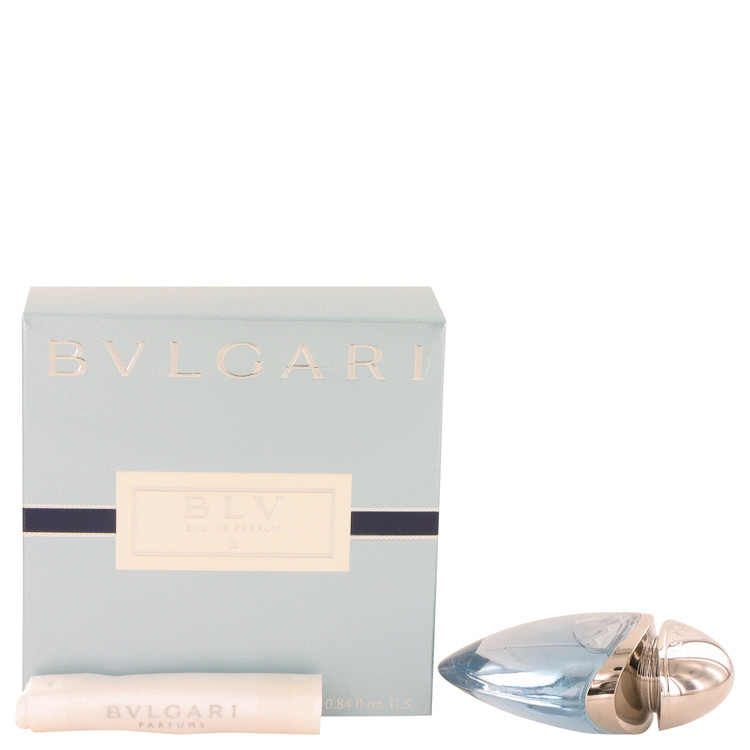 Bvlgari Blv II by Bvlgari for Women Eau De Parfum Spray .8 oz
