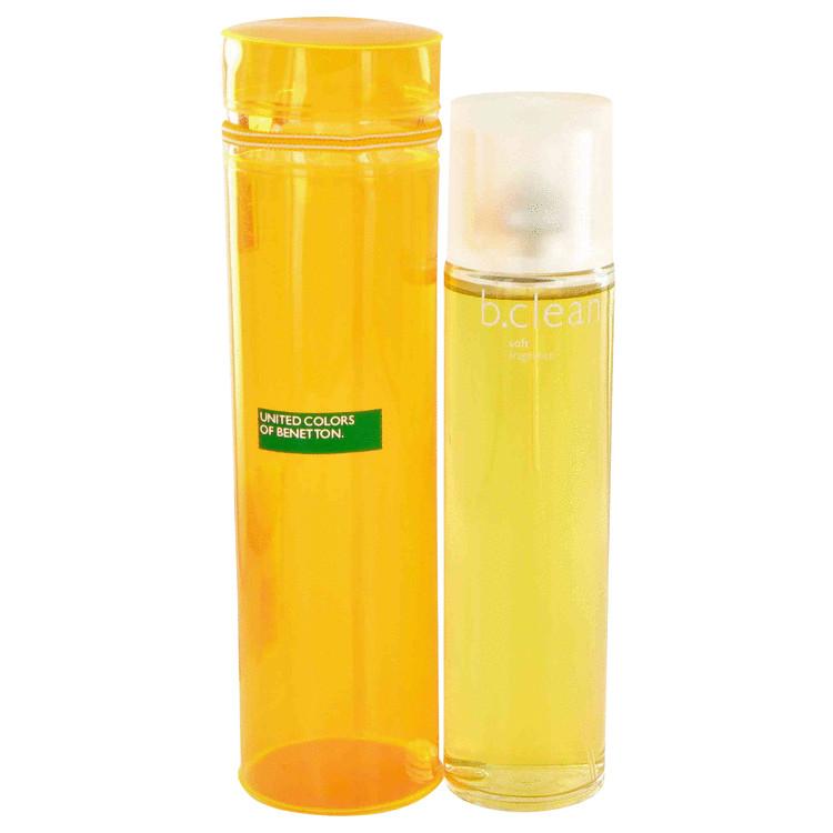 Be Clean Soft by Benetton for Women Eau De Toilette Spray 3.4 oz