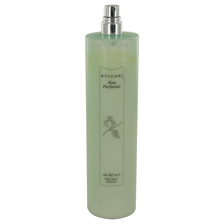 BVLGARI EAU PaRFUMEE (Green Tea) by Bvlgari for Women Body Spray Emulsion (Unisex Unboxed) 6.8 oz
