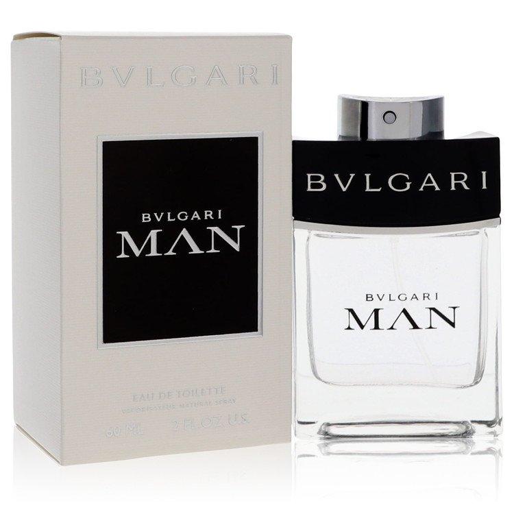 Bvlgari Man by Bvlgari for Men Eau De Toilette Spray 2 oz