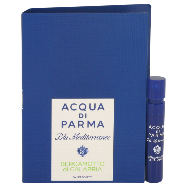 Blu Mediterraneo Bergamotto Di Calabria by Acqua Di Parma for Women Vial (sample) .04 oz