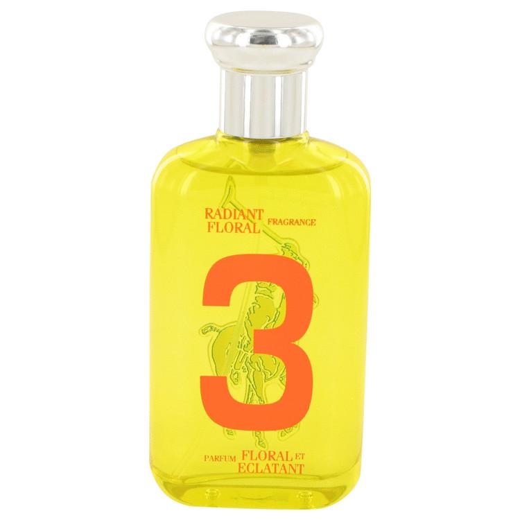 Big Pony Yellow 3 by Ralph Lauren for Women Eau De Toilette Spray (Tester) 3.4 oz