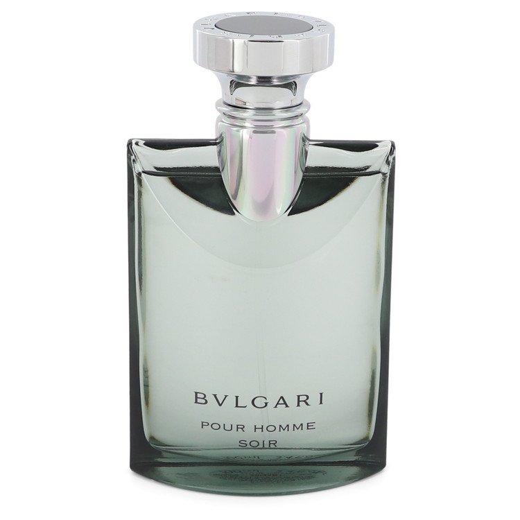 Bvlgari Pour Homme Soir by Bvlgari for Men Eau De Toilette Spray (Tester) 3.4 oz
