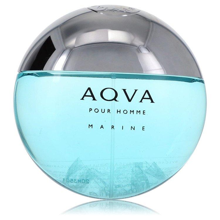 Bvlgari Aqua Marine by Bvlgari for Men Eau De Toilette Spray (Tester) 3.4 oz