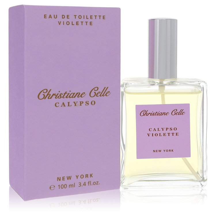 Calypso Violette by Calypso Christiane Celle for Women Eau De Toilette Spray 3.4 oz