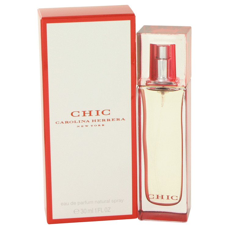 Chic by Carolina Herrera for Women Eau De Parfum Spray 1 oz