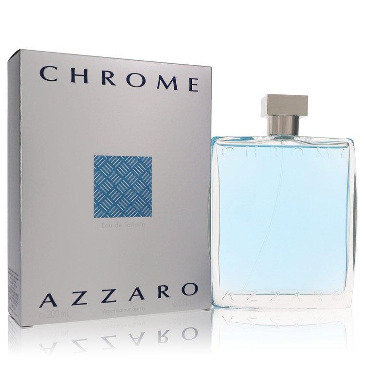 Chrome by Azzaro for Men Eau De Toilette Spray 6.8 oz