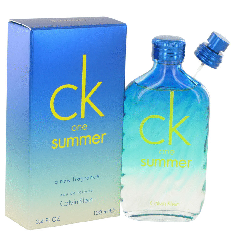 CK ONE Summer by Calvin Klein for Men Eau De Toilette Spray (2015) 3.4 oz