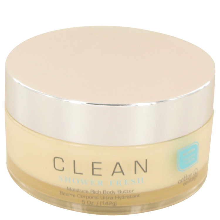 Clean Shower Fresh by Clean for Women Rich Body Butter 5 oz