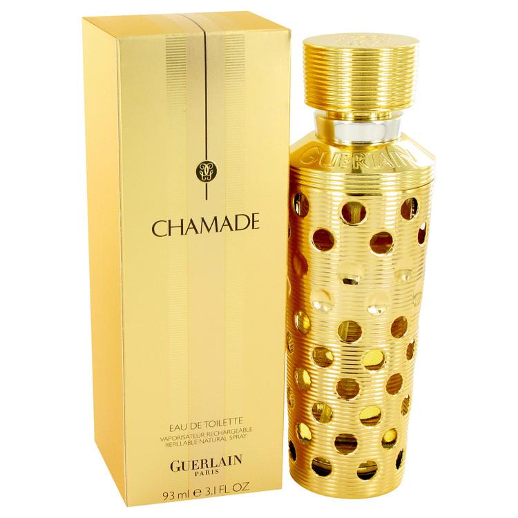CHAMADE by Guerlain for Women Eau De Toilette Spray Refillable 3.1 oz