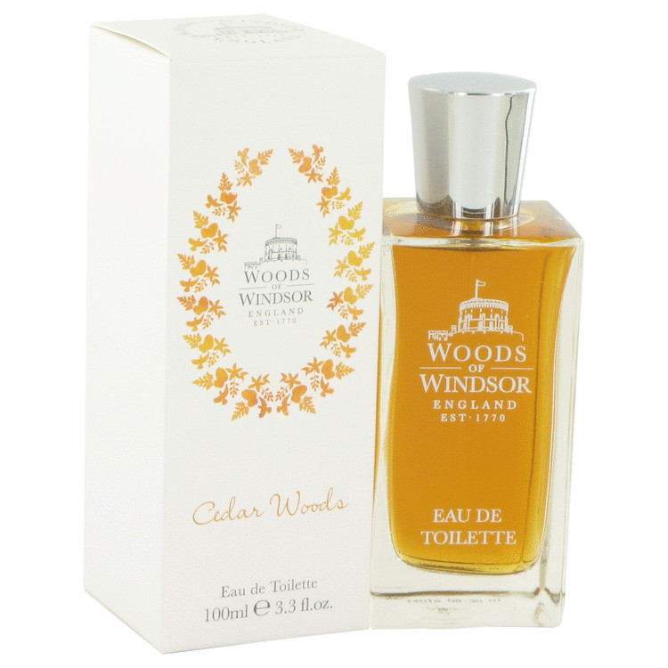 Cedar Woods by Woods of Windsor for Men Eau De Toilette Spray 3.4 oz