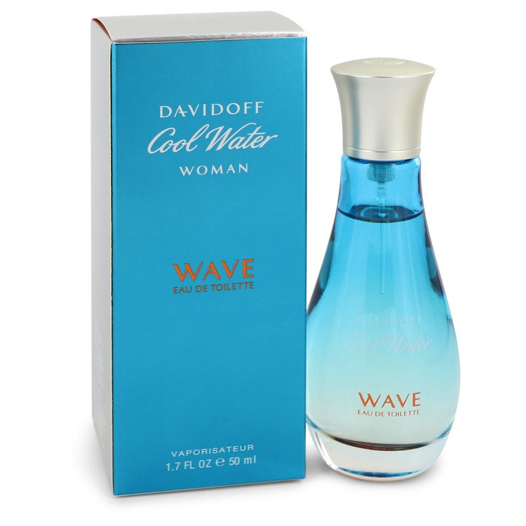 Cool Water Wave by Davidoff for Women Eau De Toilette Spray 1.7 oz