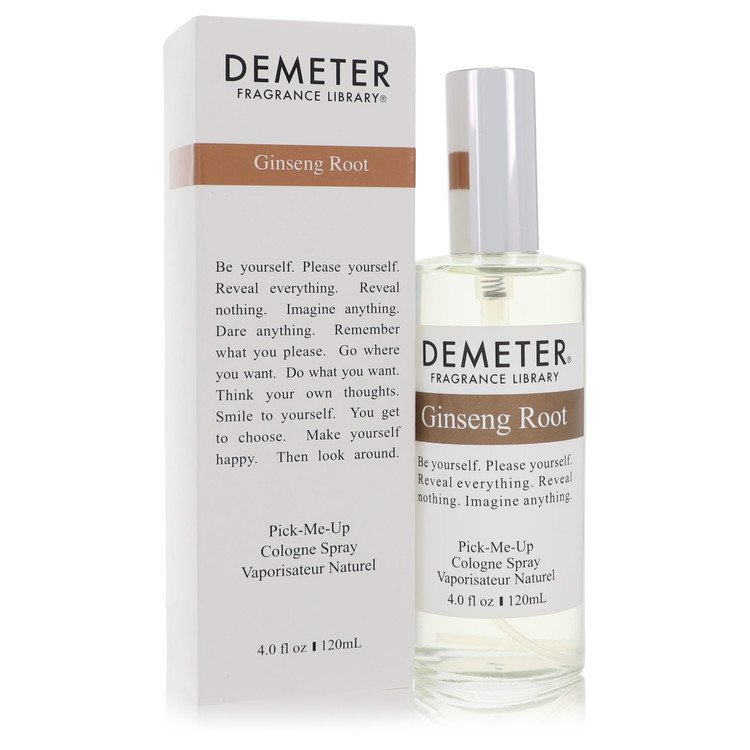 Demeter by Demeter for Women Ginseng Root Cologne Spray 4 oz