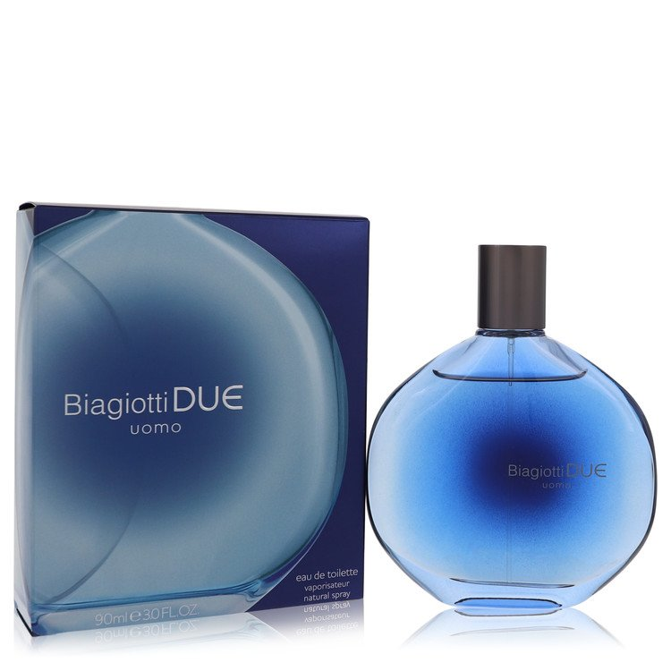 Due by Laura Biagiotti for Men Eau De Toilette Spray 3 oz