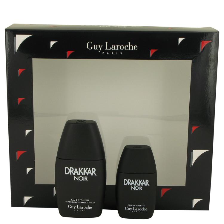 DRAKKAR NOIR by Guy Laroche Men's Gift Set 1 oz Eau De Toilette Spray + .5 oz Mini EDT Image
