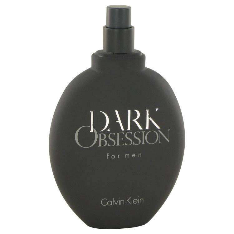 Dark Obsession by Calvin Klein for Men Eau De Toilette Spray (Tester) 4.2 oz