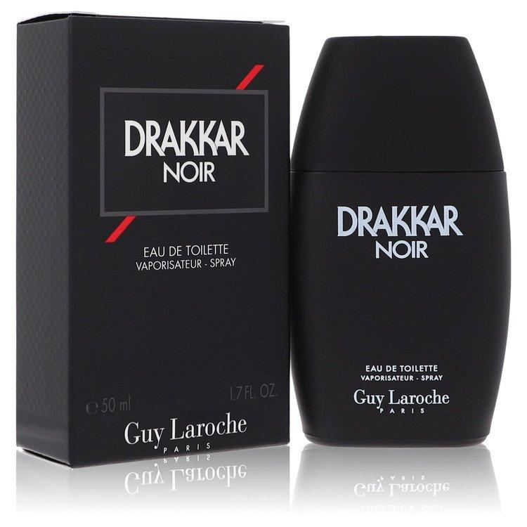 DRAKKAR NOIR by Guy Laroche for Men Eau De Toilette Spray 1.7 oz