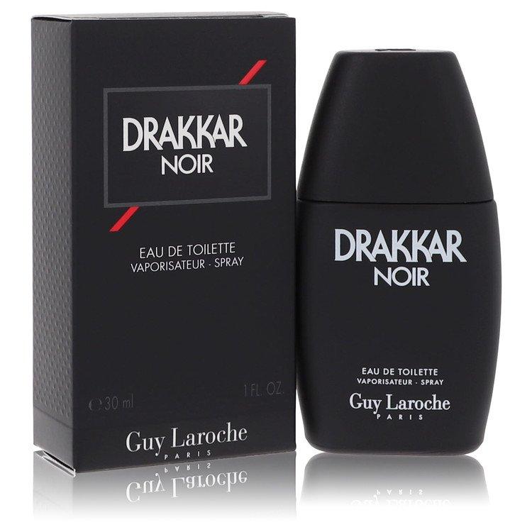 DRAKKAR NOIR by Guy Laroche for Men Eau De Toilette Spray 1 oz