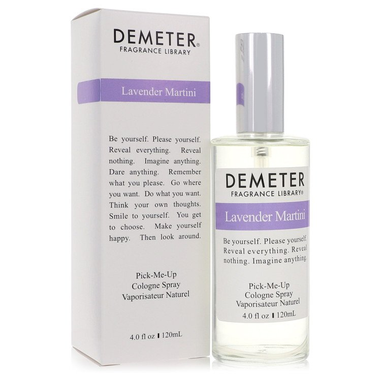 Demeter by Demeter for Women Lavender Martini Cologne Spray 4 oz