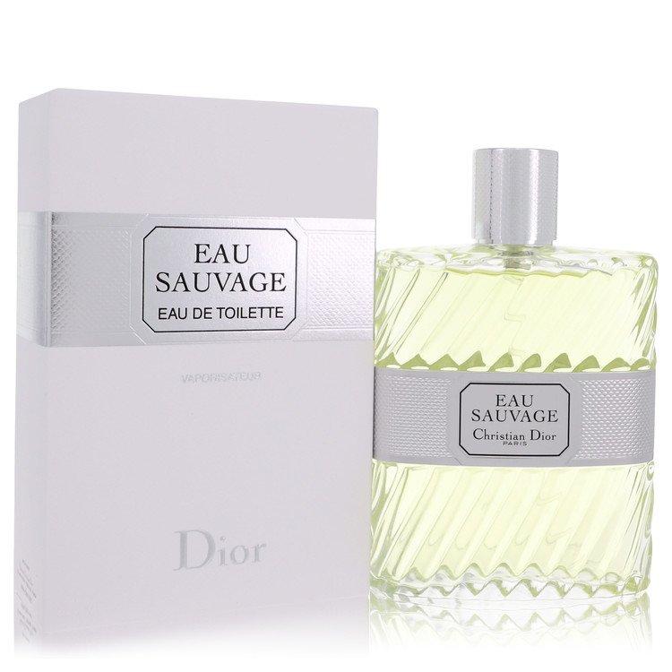EAU SAUVAGE by Christian Dior for Men Eau De Toilette Spray 6.8 oz