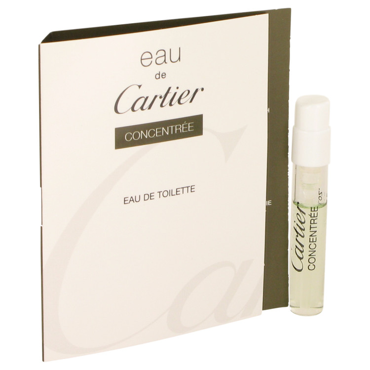 EAU DE CARTIER by Cartier for Women Vial Concentree (sample) .05 oz